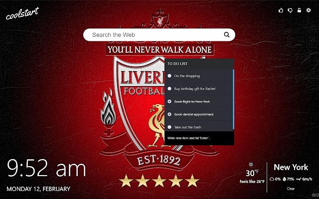 Liverpool Fc Hd Wallpapers New Tab Theme