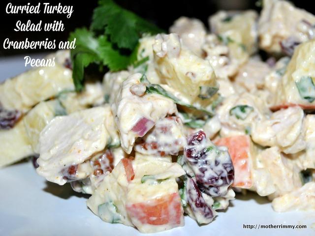 Curry Turkey Salad Recipe | Yummly