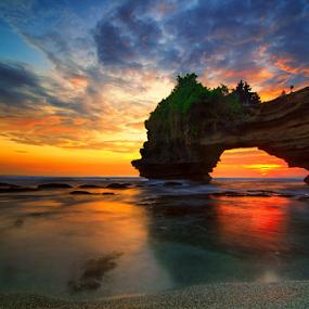 Slow by Kadek Jaya - Landscapes Waterscapes ( sky, sunset, cliff, rock, beauty in nature )