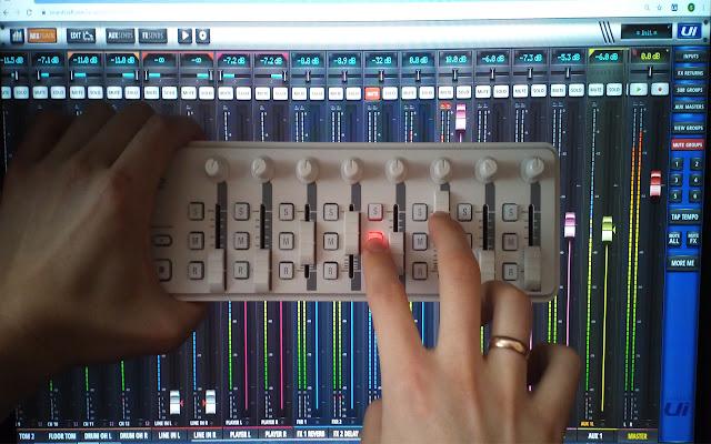 Soundcraft UI Midi Control