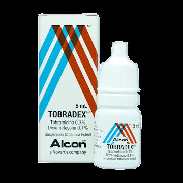 Tobradex 0.3% Suspensión   Frasco X5Ml Novartis Tobramicina Dexametasona