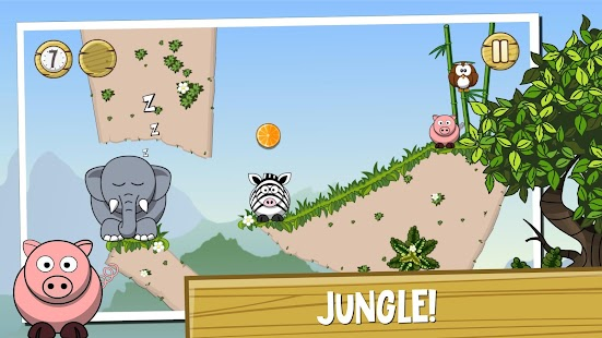 Elephant game: physics puzzle for kids & adults - náhled