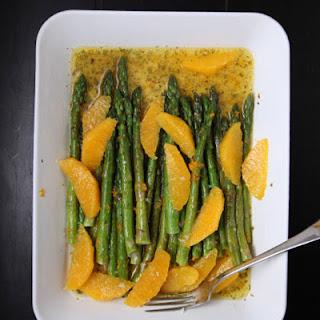 Asparagus with Citrus and Oregano.