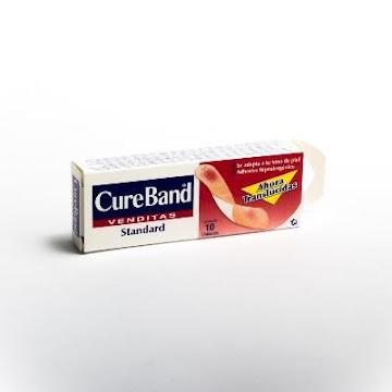 Cura CURE BAND Standard   Translúcidas x10Und