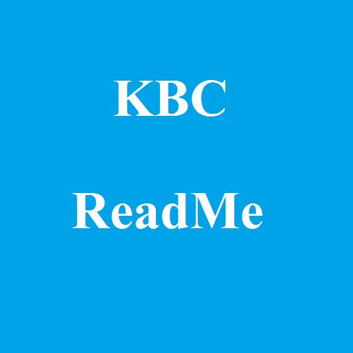 KBC ReadMe