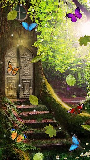 魔法の森のライブ壁紙