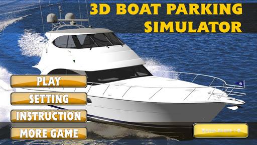 3D Boat Parking Simulator