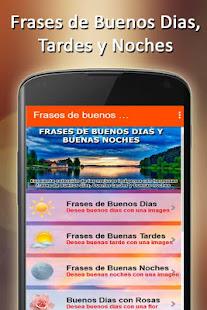 Frases De Buenos Dias Amor Y Bueas Noches Imagenes Aplicaciones En