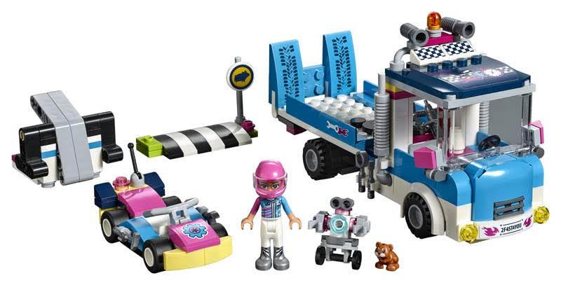 Contenido de Lego® 41348 Camión de Asistencia y Mantenimiento