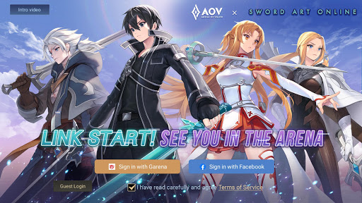 Garena AOV: Link Start APK MOD (Astuce) screenshots 1