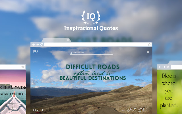 Inspiring Quotes HD Wallpapers New Tab Theme