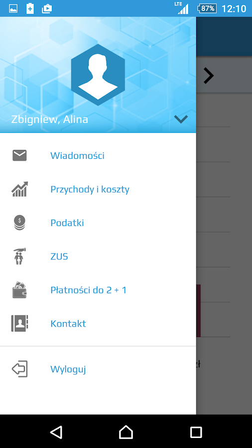 Mobilna Firma (2+1) – zrzut ekranu