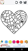 Adult Coloring: Valentines Day - screenshot thumbnail 03