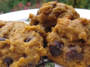 Egg-Free Pumpkin Chocolate Chip Cookies