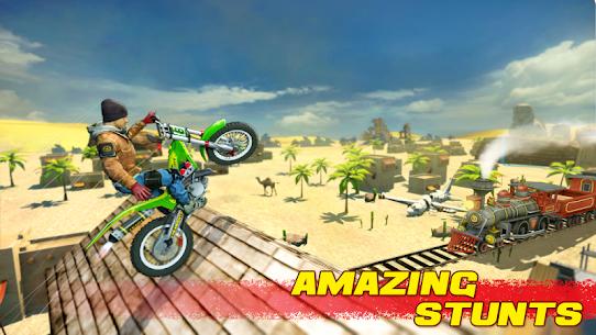 Bike Stunt 2 New Motorcycle Game MOD (Unlimited Money) 3