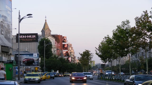BUCHAREST WEATHER IN AUGUST AT NIGHT