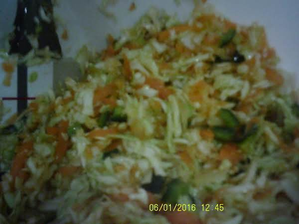 My Loco Orange Coleslaw