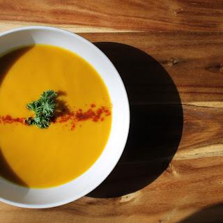 Butternut Squash and Garam Masala Cream Soup Recipe