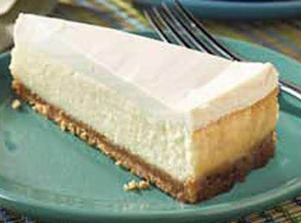 Sour Cream Top Cheesecake Recipe