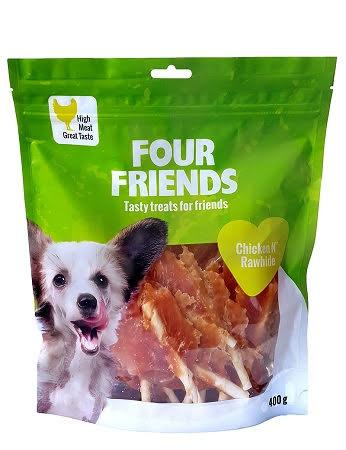 Four Friends Chicken N Rawhide 400g