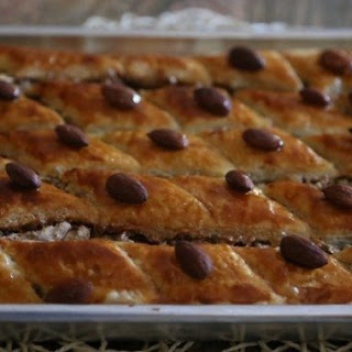 Easy Baklava Recipe with Puff Pastry.