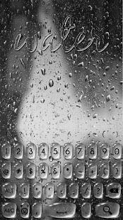 Rain Drop Keyboard - náhled