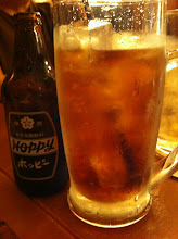 Photo: Never seen a huge mug full of ice be served with bottled beer - Hoppy beer.  Tokyo.  May 2012.