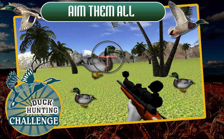 android Duck Hunting Challenge Screenshot 3