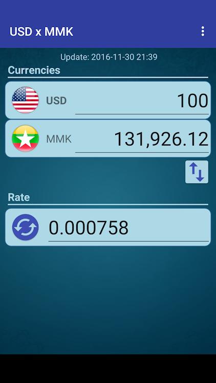 Us Dollar To Myanmar Kyat Android