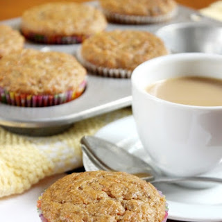 Banana Bread Carrot Muffins