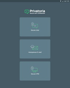 Privatoria VPN+Tor, Messenger- screenshot thumbnail