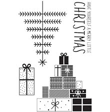 Kaisercraft Clear Stamps 6X4 - First Noel