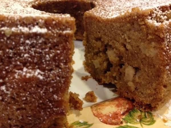 Fresh Apple Butter Cake Recipe