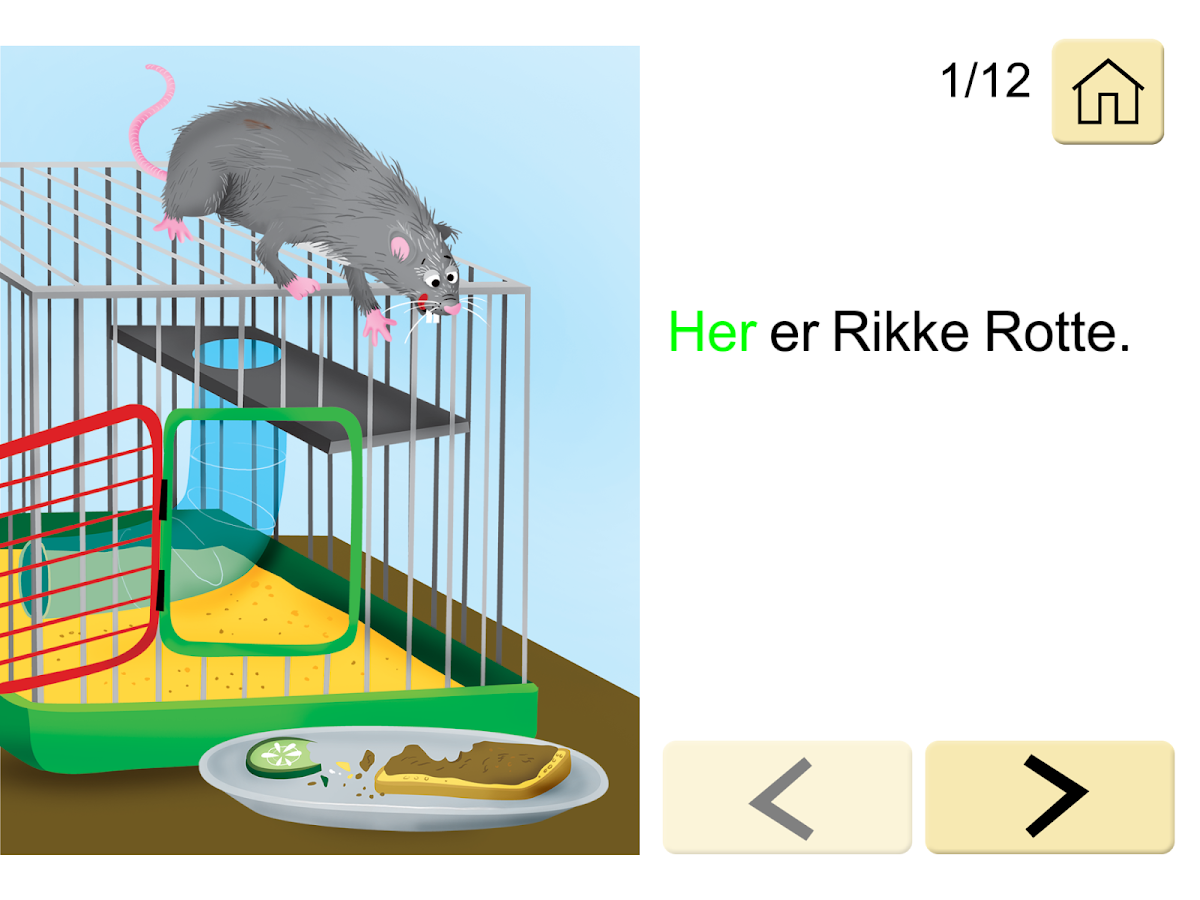 Rikke Rotte- screenshot
