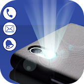 FlashLight Alert on Call & SMS - Flash On Call