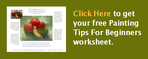 Click here to get your free Painting Tips For Beginners worksheet.