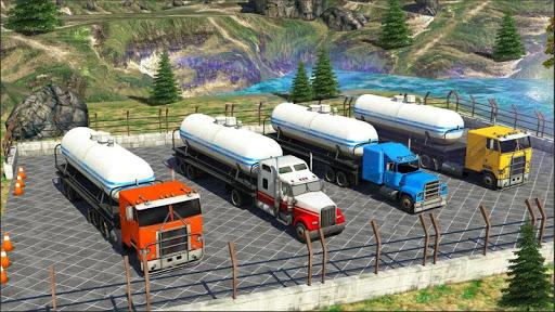 Oil Tanker Truck Simulator : Offroad Missions 2.3 screenshots 3