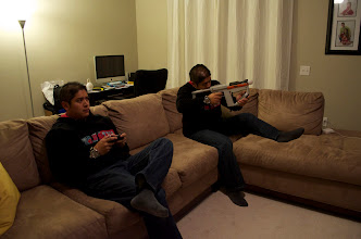 Photo: Multi-player gaming.