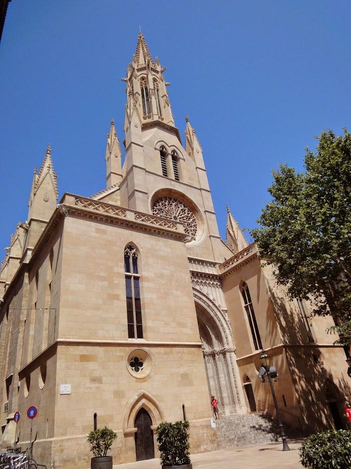 Eglise Santa Eulalia à Palma de Majorque