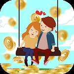 Love Coin Icon