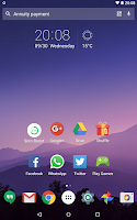 Screenshot of Solo Launcher Clean Smooth Diy