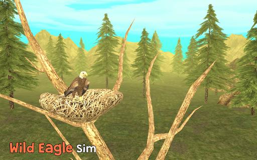 Wild Eagle Sim 3D captures d'u00e9cran 1