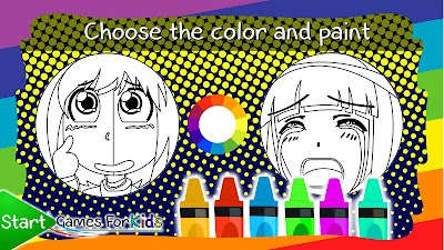 Anime And Manga Coloring Book Apk Download Apkindo Co Id