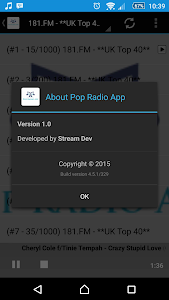 Pop Radio App screenshot 3