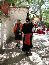 Photo: pilgrim and tourist