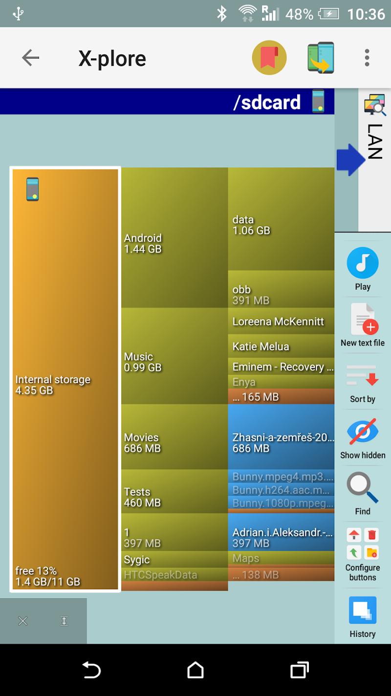 X-plore File Manager Screenshot 3