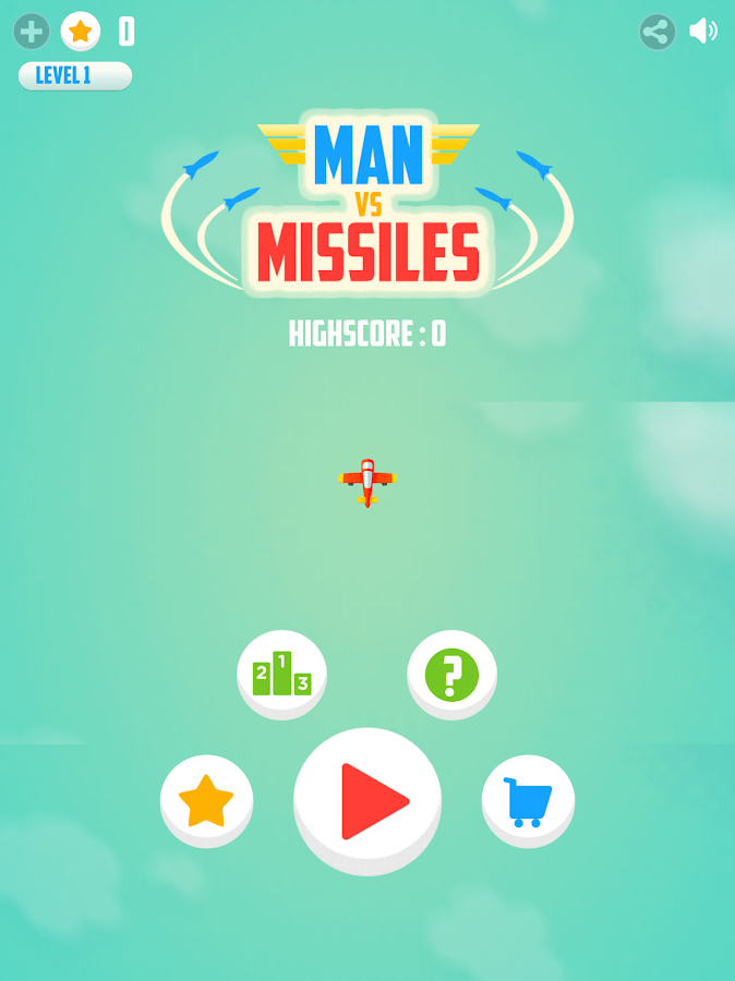 Man Vs. Missiles- screenshot