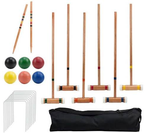 8. Croquet  Who doesn't enjoy a pleasant (or extremely competitive) game of...