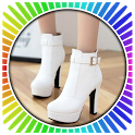 White Shoes High Heels icon