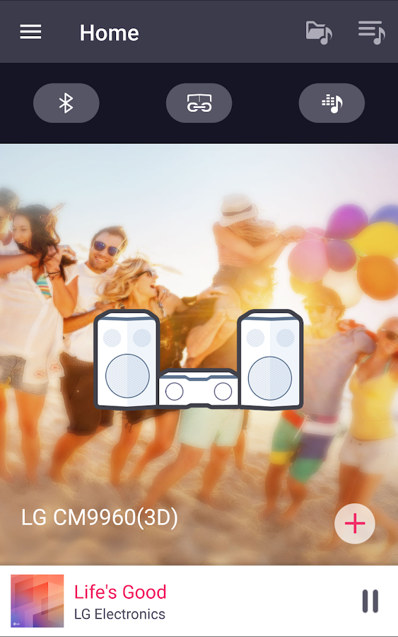 Music Flow Bluetooth – скриншот